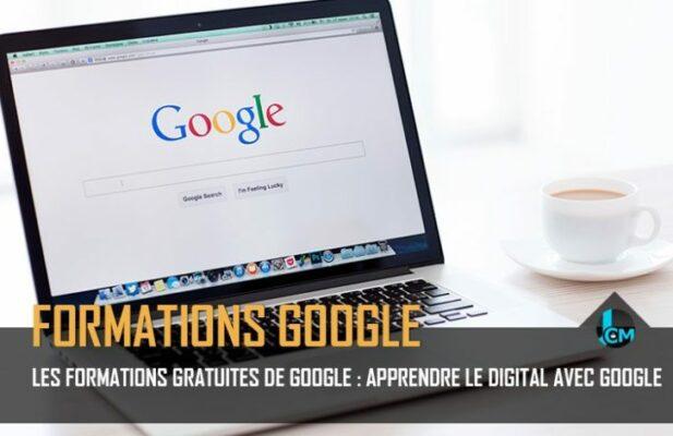 Les formations gratuites de Google